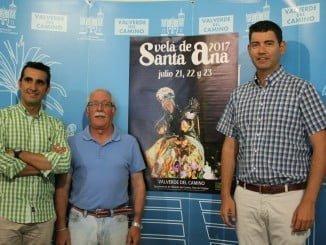 Rueda de prensa de la presentación de la Velá de Santa Ana en Valverde