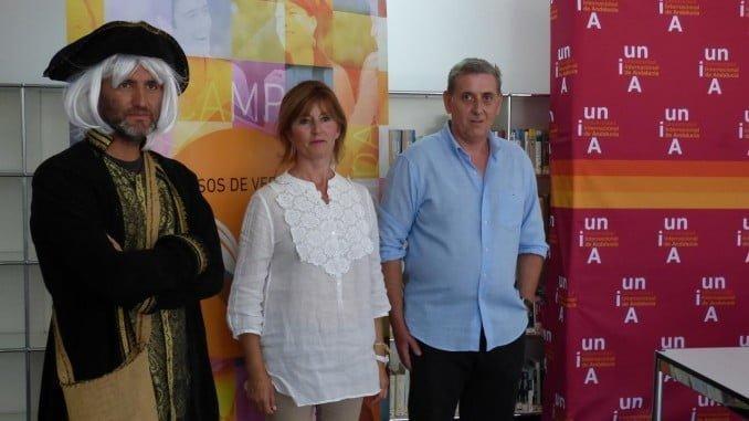 Diego Vázquez, María Ángeles Plaza, Timoteo Rivera y imparten un taller sobre turismo cultural
