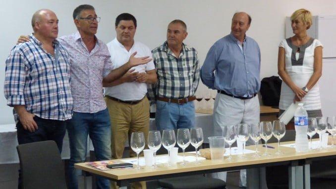 Asistentes al curso de verano de La Rábida sobre vinos