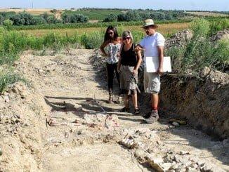 Yacimiento arqueológico medieval que ya sido encontrado en Bollullos