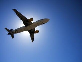 El transporte aéreo es el que más se incrementa en mayo, con una tasa del 5,8%