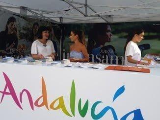 La Plaza de las Monjas, escenario de esta acción promocional