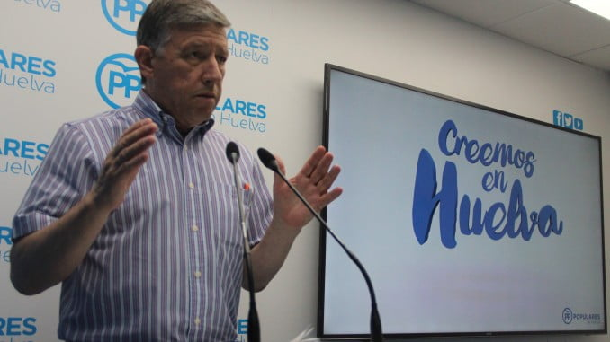"""Romero destaca la bajada del paro en Huelva """"gracias a las políticas del Gobierno"""""""