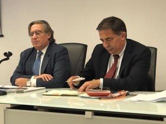 Reunión del comité luso español de pesca con la presencia de Alberto López-Asenjo y José Apolinário