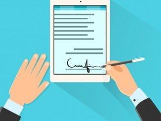 el contrato digital aporta múltiples beneficios, entre ellos ahorra papel, desplazamientos y tiempo
