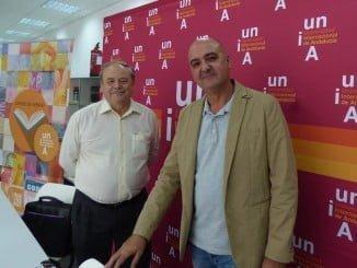 José Antonio Climent y José María Peiró Silla en un curso sobre la felicidad en el trabajo