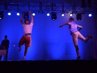 Actuación de la compañía de danza y teatro El Punto! en La Rábida