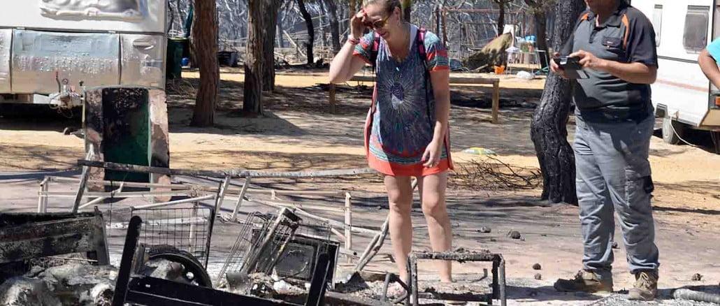 Los daños por el incendio, que arrasó casi 8.500 hectáreas, podrían alcanzar los 12 millones de euros