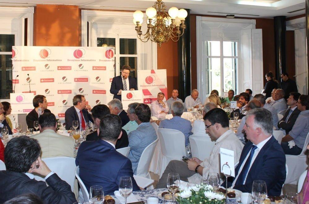 Sánchez Haro ha calificado la incipiente exportación de fresas y arándanos a China, que alcanzó el pasado año 1,2 millones