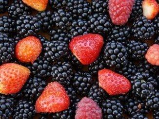 Los frutos rojos, ricos en antocianinas, ayudan a bajar la temperatura del cuerpo