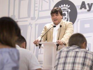 Gabriel Cruz anuncia las primeras actuaciones de la EDUSI que se llevarán a cabo en la capital