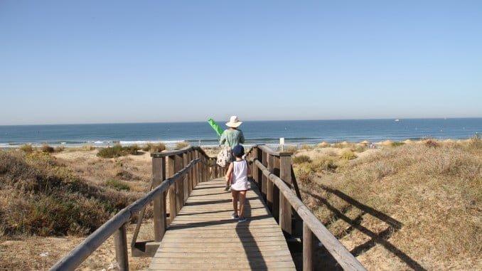 Playa en Punta Umbría