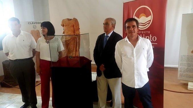 Presentación del tesoro de Riotinto