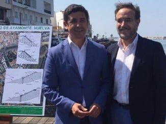 Felipe López presenta al alcalde el proyecto para la integración del Puerto