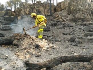 El incendio de Riotinto ha calcinado más de 600 hectáreas