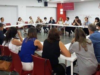 Reunión de cargos públicos y orgánicos socialistas de la ciudad