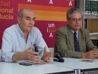 Tomás Quintana y Dionisio Fernández de Gatta en un curso sobre urbanismo sostenible