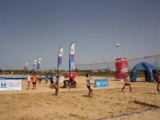 El viernes se disputará la prueba de voley playa en El Espigón y el sábado en Punta Umbría