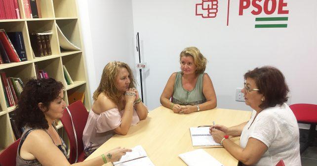 Reunión de Ana Pérez con miembros de FibrOnuba