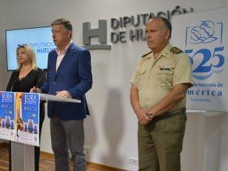 El Ayuntamiento de Palos ha organizado una jura de bandera con motivo del 525 Aniversario del Descubrimiento.