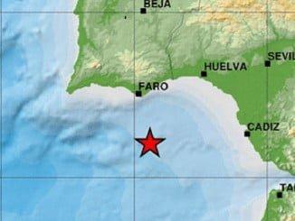 El primero se produjo más cerca de las costas de Huelva este mismo domingo.