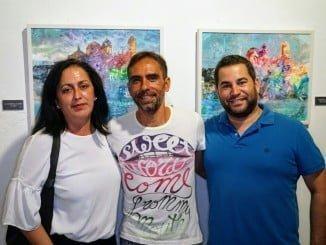 Daniel Franco expone hasta el 1 de septiembre en la Casa Grande de Ayamonte.
