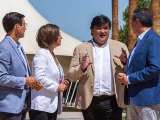 Cumbre de alcaldes socialistas de capitales de Andalucía en Huelva.
