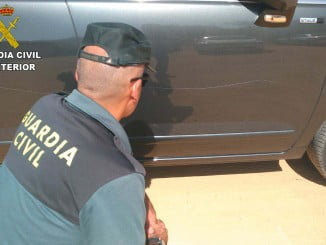 La Guardia Civil ha esclarecido un caso y detenido al presunto autor de daños a vehículos en el Nuevo Portil