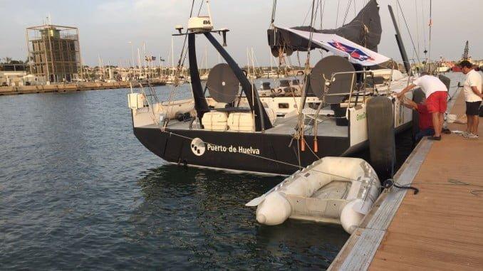 La embarcación competirá bajo la grimpola del Club Deportivo Náutico Punta Umbría