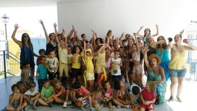 El campamento urbano de Aljaraque ha contado con la participación de 110 alumnos