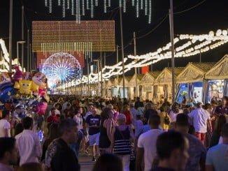 Durante los seis días de Colombinas, onubenses y turistas han abarrotado las calles del recinto