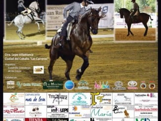 Cartel anunciador del Concurso de Doma Vaquera
