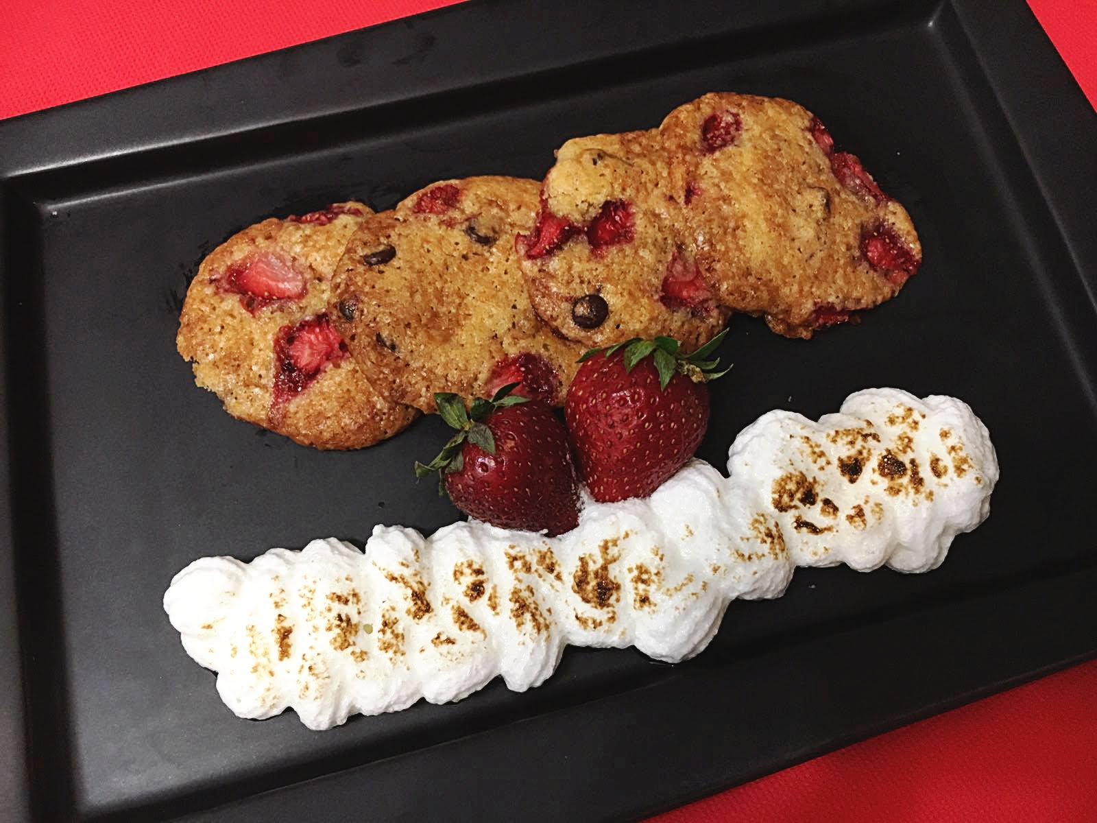 Cookies de fresas