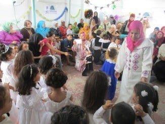 El programa se destina a menores de barrios marginales y una comuna rural de la zona de  Assilah