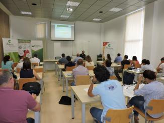 Un momento de la jornada Globalgap, dirigida a directores y técnicos del sector agrícola