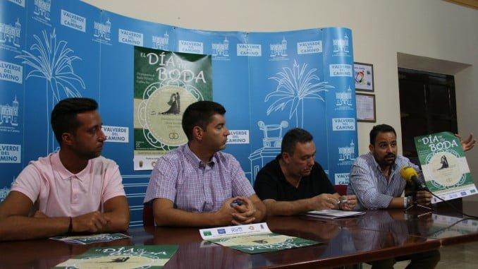 Presentación en el Ayuntamiento de Valverde de la campaña 'El Día de tu Boda'