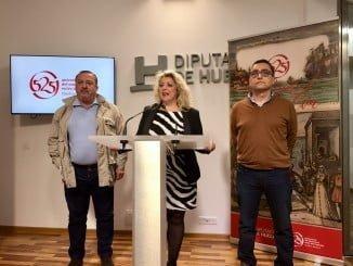 Lourdes Garrido presenta la exposición 'Indianos en Huelva' , que llega a la Sierra