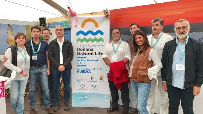La provincia de Huelva ha estado presente en la British Birdwatching Fair