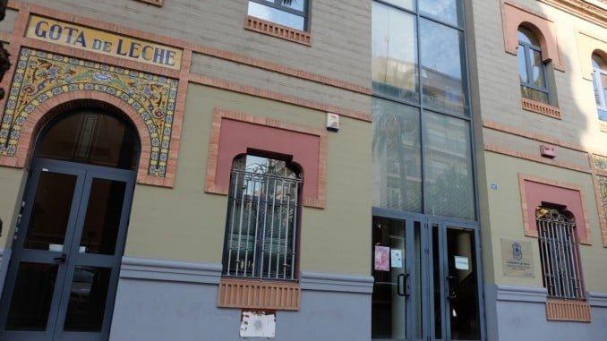 Edificio de la Gota de Leche, donde se ubican los Servicios Sociales del Ayuntamiento