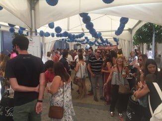 El centro de Huelva ve como año tras año en Colombinas la Feria de Día cuenta con más adeptos