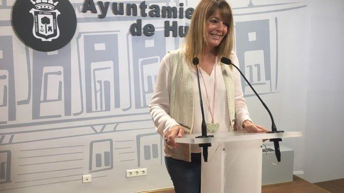 Pilar Miranda, portavoz del Grupo Municipal del PP en el Ayuntamiento de Huelva