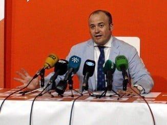 El portavoz provincial de Ciudadanos Julio Díaz