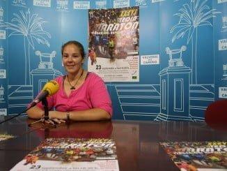 La concejal de Deportes presenta la Media Maratón Virgen del Reposo