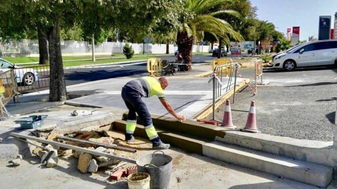 El Ayuntamiento ha realizado 481 obras de mantenimiento en calles y espacios públicos de la ciudad
