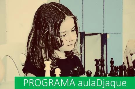 Cartel anunciador del programa aulaDjaque