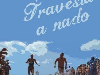 Cartel anunciador de la Travesía a Nado