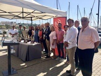 Presentación de los trofeos y actividades paralelas a la regata Huelva-La Gomera