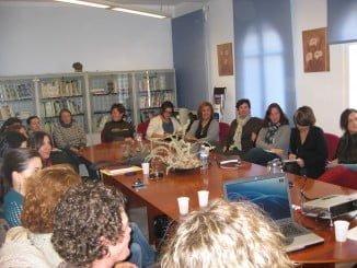 Imagen de una sesión clínica del Servicio Provincial de Drogodependencias