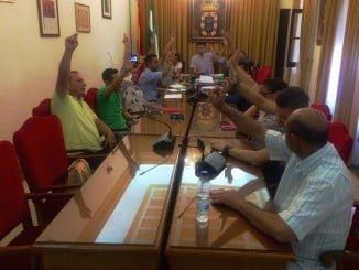 Pleno extraordinario en el Ayuntamiento de Valverde