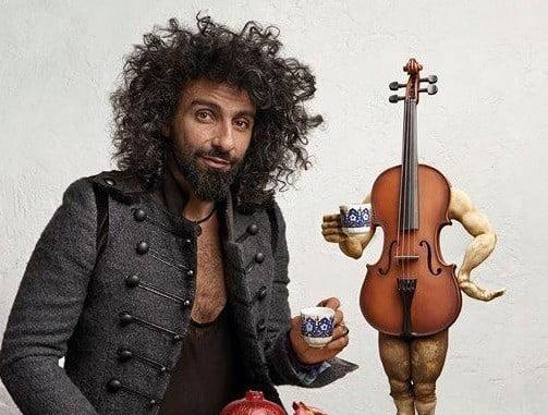 El violinista Ara Malikian abrirá este miércoles el Festival 'Punta de Estrellas'